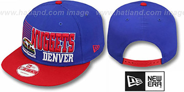 Nuggets '2T BORDERLINE SNAPBACK' Royal-Red Hat by New Era