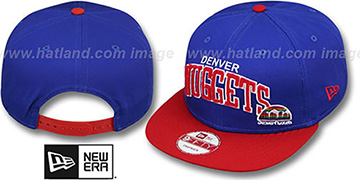 Nuggets 'CHENILLE-ARCH SNAPBACK' Royal-Red Hat by New Era