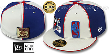 Nuggets DW MINER-LOGOMAN Royal-White Fitted Hat by New Era