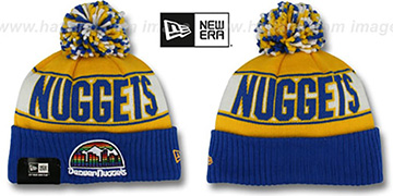 Nuggets HWC REP-UR-TEAM Knit Beanie Hat by New Era
