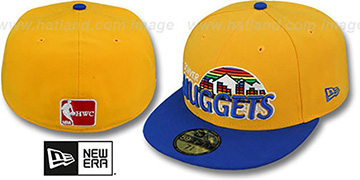 Nuggets HWC-TIGHT Gold-Royal Fitted Hat by New Era