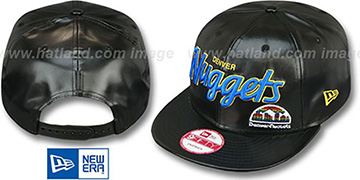 Nuggets 'REDUX SNAPBACK' Black Hat by New Era