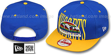 Nuggets 'STEP-ABOVE SNAPBACK' Royal-Gold Hat by New Era