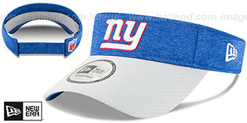 NY Giants 18 NFL STADIUM Royal-Grey Visor by New Era