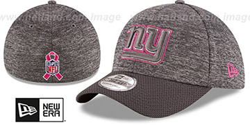 NY Giants 2016 BCA FLEX Grey-Grey Hat by New Era