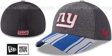 NY Giants 2017 NFL ONSTAGE FLEX Charcoal Hat by New Era