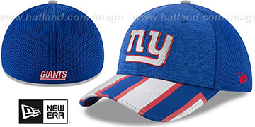 NY Giants 2017 NFL ONSTAGE FLEX Hat by New Era