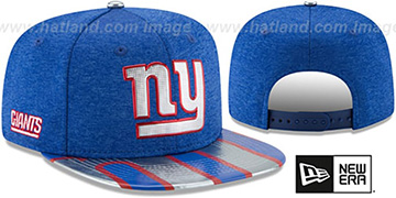 NY Giants '2017 NFL ONSTAGE SNAPBACK' Hat by New Era