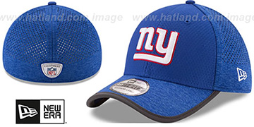 NY Giants 2017 NFL TRAINING FLEX Royal Hat by New Era