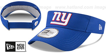NY Giants '2017 NFL TRAINING VISOR' Royal by New Era