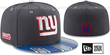 NY Giants '2017 SPOTLIGHT' Charcoal Fitted Hat by New Era