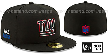 NY Giants 2020 NFL VIRTUAL DRAFT Black Fitted Hat by New Era