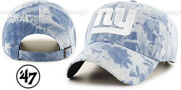 NY Giants 'ACID WASH STRAPBACK' Hat by Twins 47 Brand
