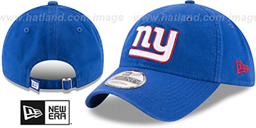 NY Giants CORE-CLASSIC STRAPBACK Royal Hat by New Era