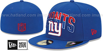 NY Giants 'NFL 2013 DRAFT' Royal 59FIFTY Fitted Hat by New Era