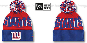 NY Giants 'REP-UR-TEAM' Knit Beanie Hat by New Era