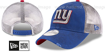 NY Giants 'RUSTIC TRUCKER SNAPBACK' Hat by New Era