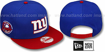 NY Giants 'SAID SNAPBACK' Royal-Blue Hat by New Era