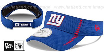 NY Giants 'SPEED-VISOR' Royal by New Era