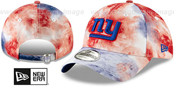 NY Giants TIE-DYE STRAPBACK Hat by New Era