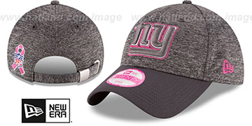 NY Giants 'WOMENS 2016 BCA STRAPBACK' Grey-Grey Hat by New Era