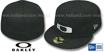 Oakley 'HAZMAT' Black Fitted Hat by New Era