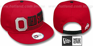Ohio State 'RETRO-SNAPBACK' Red Hat by New Era