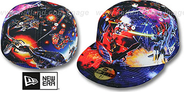 Optimus Prime 'BATTLE HI-RES ALL OVER' Multi Fitted Hat by New Era