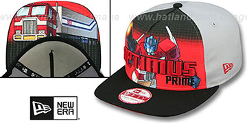 Optimus Prime 'SUB-RIVAL SNAPBACK' Adjustable Hat by New Era