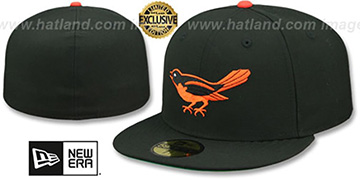 Orioles 1954 COOPERSTOWN Fitted Hat by New Era