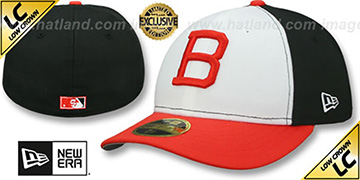 Orioles '1963 LOW-CROWN VINTAGE' White-Black-Orange Fitted Hat by New Era