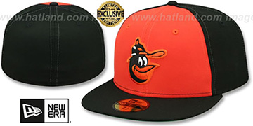 Orioles '1979-88 ALTERNATE COOPERSTOWN' Fitted Hat by New Era
