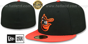 Orioles 1979-88 ROAD COOPERSTOWN Fitted Hat by New Era