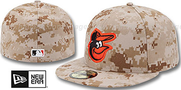 Orioles 2013 'STARS N STRIPES' Desert Camo Hat by New Era