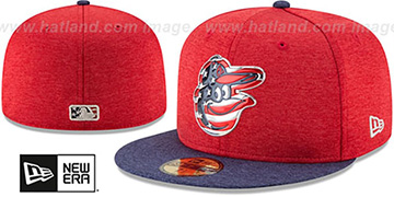 Orioles '2017 JULY 4TH STARS N STRIPES' Fitted Hat by New Era