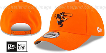 Orioles '2017 LITTLE-LEAGUE 940 SNAPBACK' Orange Hat by New Era