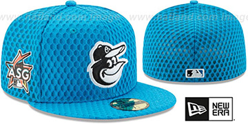 Orioles 2017 MLB HOME RUN DERBY Blue Fitted Hat by New Era