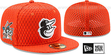 Orioles '2017 MLB HOME RUN DERBY' Orange Fitted Hat by New Era