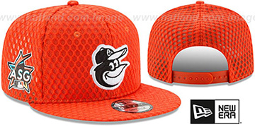 Orioles '2017 MLB HOME RUN DERBY SNAPBACK' Orange Hat by New Era