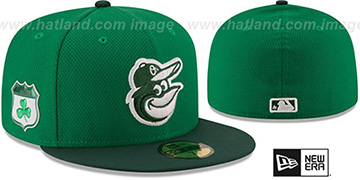 Orioles '2017 ST PATRICKS DAY' Hat by New Era