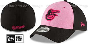 Orioles 2018 MOTHERS DAY FLEX Pink-Black Hat by New Era