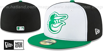 Orioles 2018 ONFIELD EARTH DAY Fitted Hat by New Era