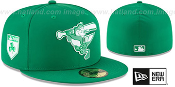 Orioles 2018 ST PATRICKS DAY Hat by New Era