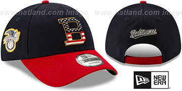 Orioles 2019 JULY 4TH STARS N STRIPES STRAPBACK Hat by New Era