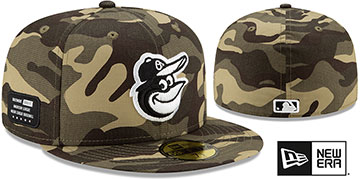 Orioles 2021 ARMED FORCES 'STARS N STRIPES' Hat by New Era
