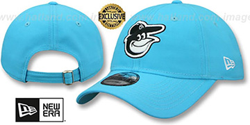 Orioles BEACHIN STRAPBACK Caribbean Blue Hat by New Era