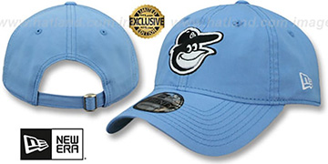 Orioles BEACHIN STRAPBACK Light Blue Hat by New Era