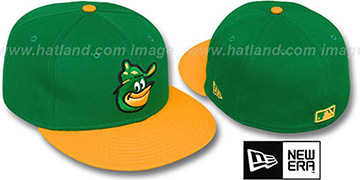 Orioles COOP 2T-FASHION Green-Gold Fitted Hat by New Era