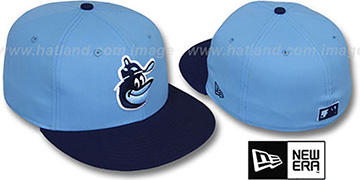 Orioles COOP '2T-FASHION' Sky-Navy Fitted Hat by New Era