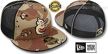 Orioles COOP DESERT STORM MESH-BACK Fitted Hat by New Era